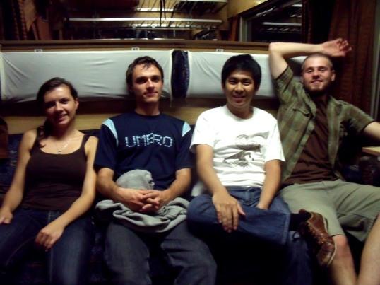 Anya, Chris, Saya, Lukasz